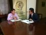 Firma de Convenio con SEPIN 29.09.2014