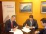 Firma del Convenio de Mutua Balear de 19.11.2014