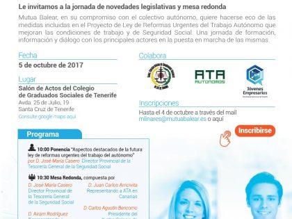 Jornada informativa sobre la Ley de reformas urgentes del trabajo autónomo
