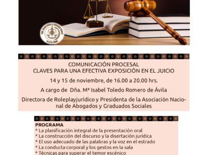 Comunicación Procesal. Claves para una efectiva exposición en el Juicio