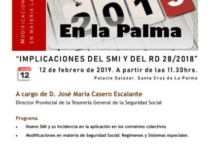 Modificaciones recientes en materia laboral en La Palma