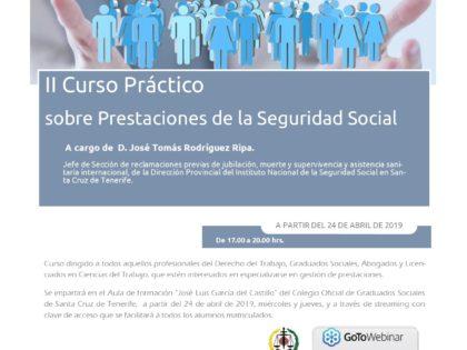 II Curso Práctico sobre Prestaciones de la Seguridad Social