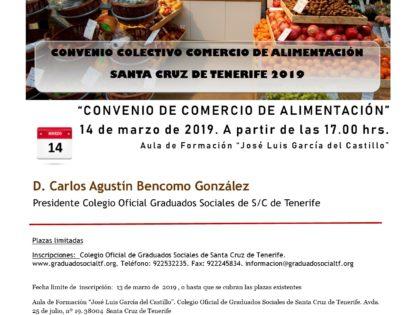 Jornada Convenio Comercio de Alimentación