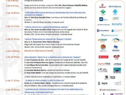 """XXV Jornadas de Derecho del Trabajo """"José Luis Garcia del Castillo"""""""
