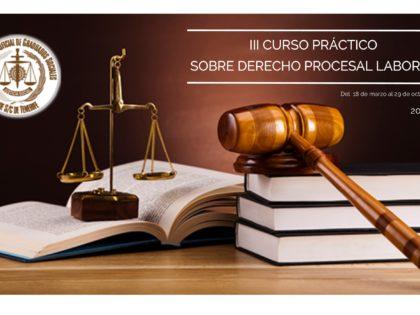 III Curso Práctico  sobre Derecho Procesal Laboral (cancelado)